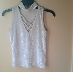 Off white top(used)